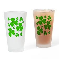 irish clover3 Drinking Glass