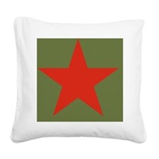 unionstar Square Canvas Pillow