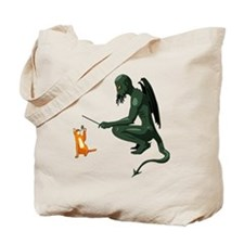 cthulu_cat_cafepress Tote Bag