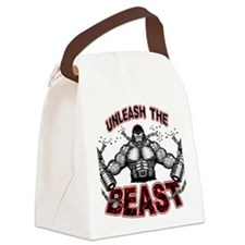 Unleash The Beast Canvas Lunch Bag