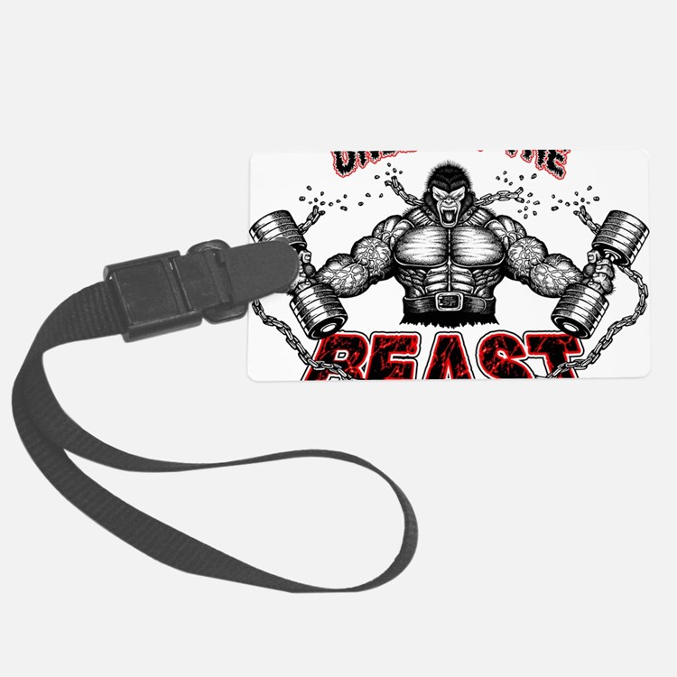 Unleash The Beast Luggage Tag
