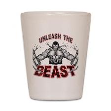Unleash The Beast Shot Glass