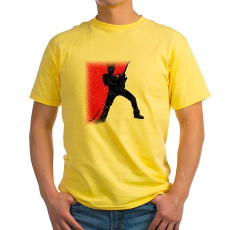 redwhtX Yellow T-Shirt