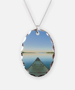 Lake 1 - 42x28 Necklace