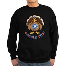 Funny Thanksgiving Hanukkah 2013 [r] Sweatshirt