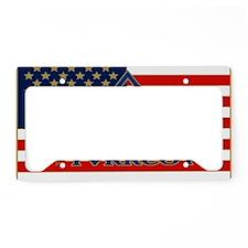 TVRRCOT LOGO PIN FLAG License Plate Holder