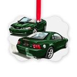 Mustang Picture Frame Ornaments