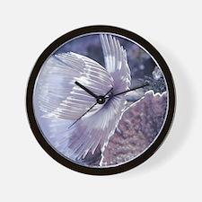 pads_water garden_duster Wall Clock
