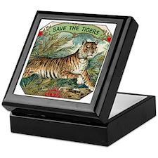 Save The Tigers Keepsake Box