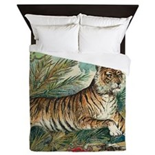 Save The Tigers Queen Duvet