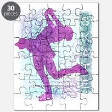 Vector Skater Collage Puzzle