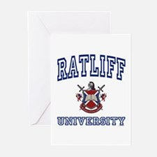 RATLIFF University Greeting Cards (Pk of 10)