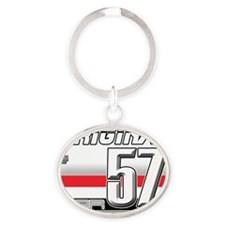 57H Oval Keychain