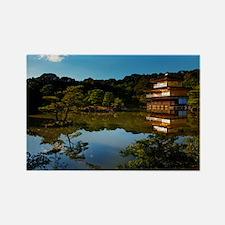 Golden Pavilion - Kyoto, Japan Rectangle Magnet