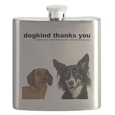 dogkind sweatshirt Flask