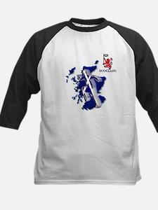 Scotland sprinter running Baseball Jersey