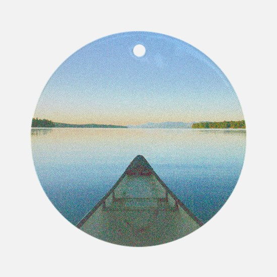 Lake 1 - Ipad Case2 Round Ornament