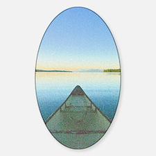 Lake 1 - Ipad Case2 Sticker (Oval)