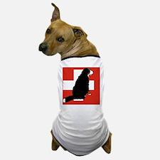 Sitting Bernese Mountain Dog (Swiss)01 Dog T-Shirt