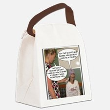 2-Point Of View Canvas Lunch Bag