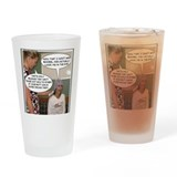 Breast cancer Pint Glasses
