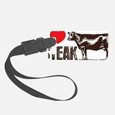 Steak Luggage Tag