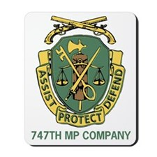 747th Military Police Co Mousepad