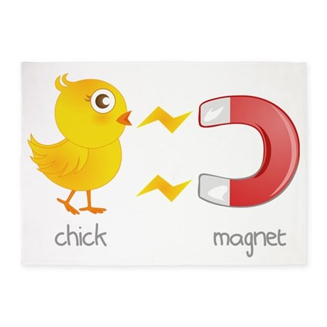 chick 5'x7'Area Rug