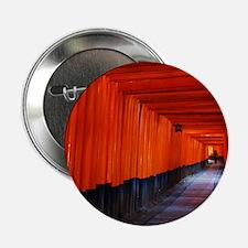 "Torii Gates in Kyoto, Japan 2.25"" Button"