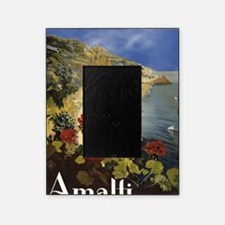 Vintage Amalfi Italy Travel Picture Frame