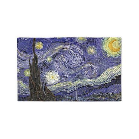 Starry Night 3'x5' Area Rug