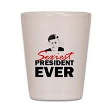 ART 2 JFK Sexiest Shot Glass