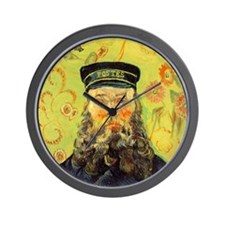 Joseph Etienne Roulin (Postman) Wall Clock