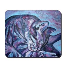 Blue Rocky 2 Mousepad