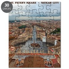 Vatican City - St Peters Square Puzzle