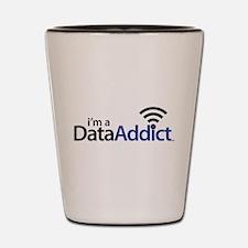 Data Addict Shot Glass