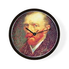 Self-Portrait (1887) Wall Clock