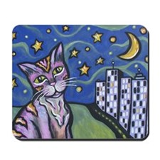 Starry Cat 2 Mousepad
