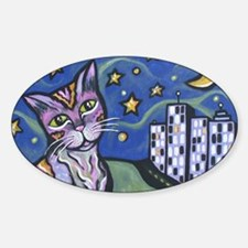 Starry Cat 2 Decal