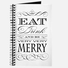 Eat, Drink and Be Merry! Journal
