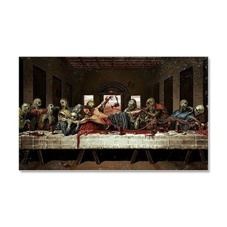 last supper Car Magnet 20 x 12