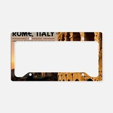 Rome - Roman Forum Sunset License Plate Holder