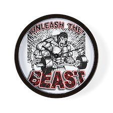 Unleash The Beast 2 Wall Clock