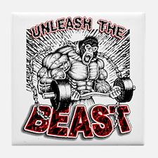 Unleash The Beast 2 Tile Coaster