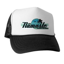 namaste-distressed-lights Trucker Hat