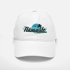 namaste-distressed-lights Baseball Baseball Cap