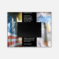 A Poem For 911 WWS Zoomed Picture Frame