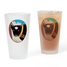 TheBigBull-C10trans Drinking Glass
