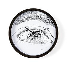Eye T-Shirt3 Wall Clock
