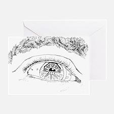 Eye T-Shirt3 Greeting Card
